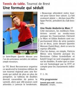 Tournoi TTBCR