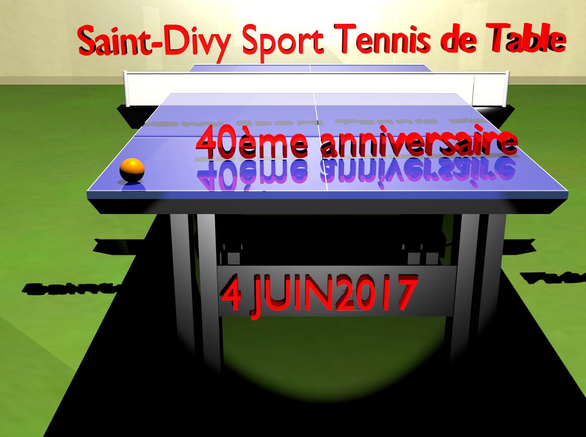 40 ans de l association inscriptions sdstt - Tennis de table classement individuel ...