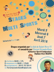 stage multisport 2016